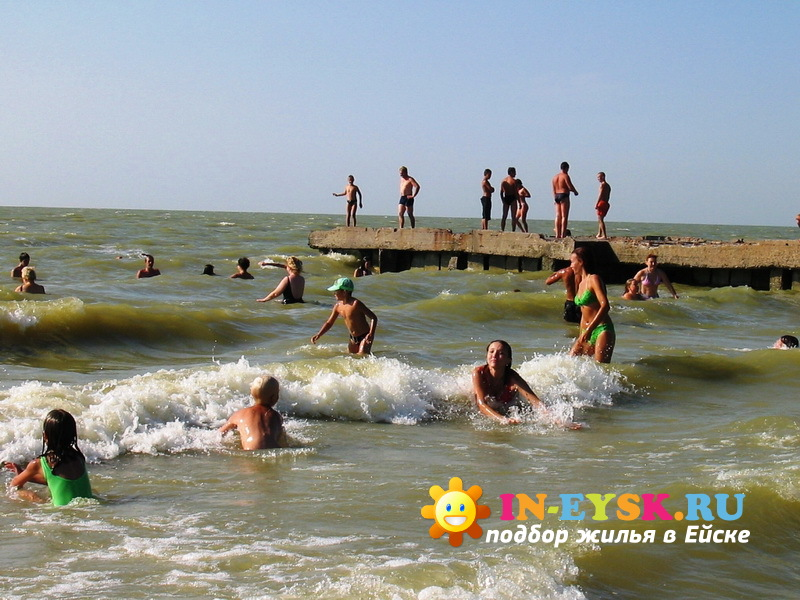 ейск пляж центральный фото